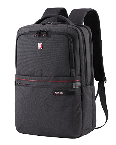 Swiss Ruigor 6406 Water Resistant Unique Backpack Fit For 15.6