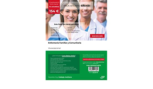 PACK AHORRO BASICO ENFERMERIA FAMILIAR Y COMUNITARIA VIA EX: Amazon.es: AA.VV: Libros