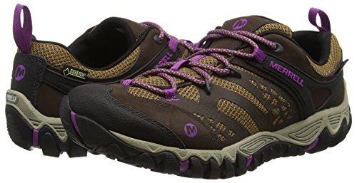 Low Mujer Blaze Vent De Brown Dark Out Senderismo Rise tex Zapatos Merrell Gore All aUpqxnwB