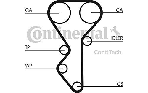 Contitech CT955K2 KIT DE COURROIE DE DISTRIBUTION