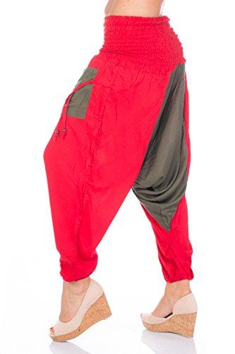Lakinza - Pantalón - para mujer Rot - Khaki