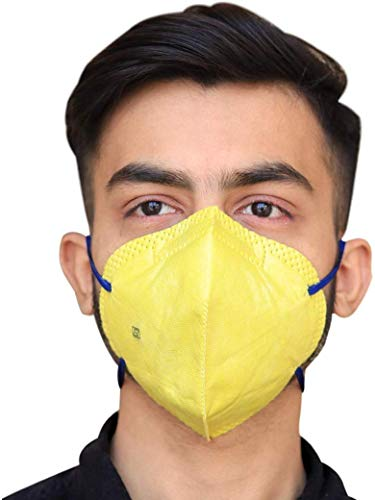MR Healthy Life Pollution Mask for Men and Women (Black, Free Size)