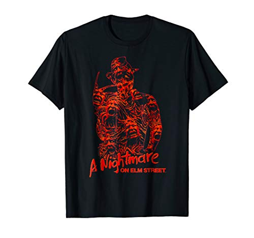 Nightmare on Elm Street Freddy Chest of Souls T Shirt]()