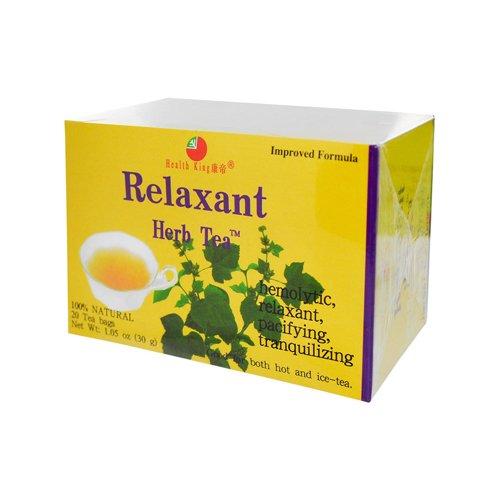 Bolsa de té de los tés medicinales salud rey - relajante - 20