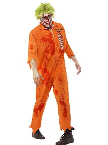 Smiffys Men's Zombie Death Row Inmate Costume