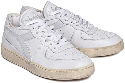 Diadora Herrenschuhe Sneaker weißem Leder 201-176282-01-C8450