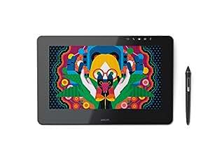 """Wacom DTH-1320-EU Cintiq Pro 13 - Pantalla creativa interactiva de 13"""" (Full HD, con lápiz de 8192 niveles de presión), negro matte"""