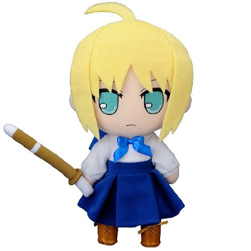 Nendoroid Plus Plushie Series 37 Fate/stay night Saber - 25cm Tall Doll