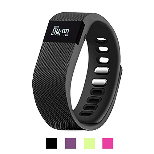 Activity Tracker, EiffelT Pedometer Sport Fitness Tracker Sleep Monitor Calorie Counter for Android and IOS Bluetooth 4.0 Smart Phone