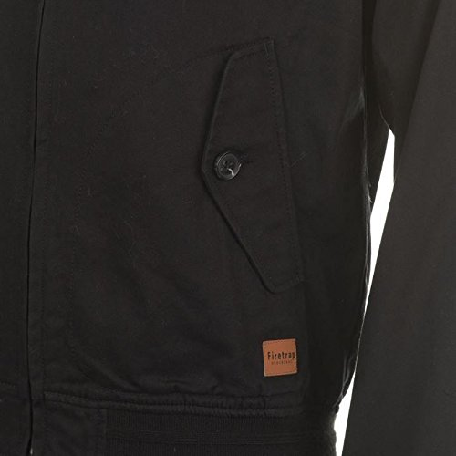 Firetrap Blackseal Harrington Jacke Herren schwarz Jacken Mäntel Oberbekleidung