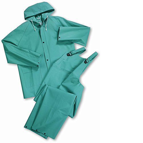West Chester 4045 L Heavy Duty 40 mL Acid Suit, Large, - Rainsuit 30