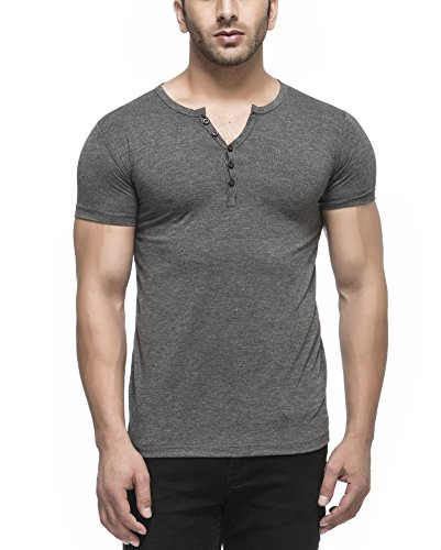 Tinted Mens Rayon Henley T Shirt X Large Anthera