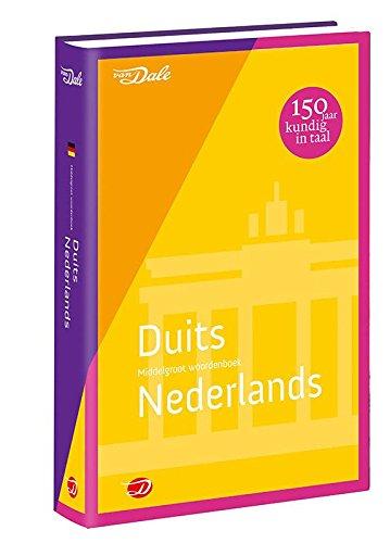 Van Dale Middelgroot Woordenboek Duits Nederlands  Van Dale Middelgrote Woordenboeken