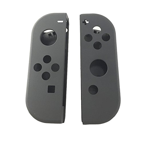 Replacement Nintendo Switch NS NX Joy-Con Controller Full Housing Faceplate Shell Case Cover ( 1Pair Grey)