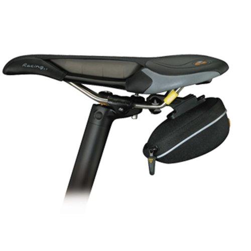 Topeak ProPack Micro Satteltasche Wedge Pack Rennrad Fahrrad 0,32L QuickClick Wasserabweisend, 15000051