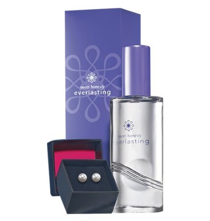 Avon Sweet Honesty Everlasting Gift Set with Faux Pearl Earrings