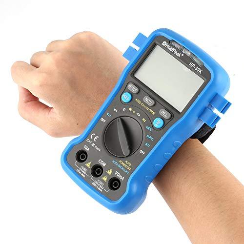 HoldPeak HP-39K Digital Multimeter, Allsun ETP109 Mini Digital LCD Thermometer Temperature Tester Meter Data Hold C/F Pyrometer IR Industrial Home Portable