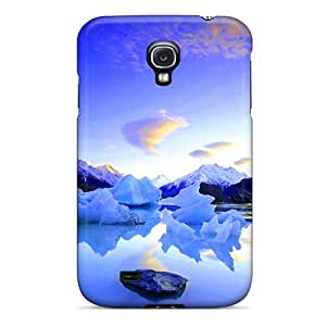 MarilouLCarlson Snap On Hard Case Cover Icy Lake Protector For Galaxy S4