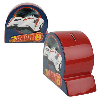 New 205308 6.3-Inch Speed Racer Mach 6 Coin Bank (6-Pack) Stationery Cheap Wholesale Discount Bulk Stationery Stationery