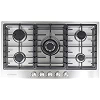 Cosmo VA-S950M Stainless Steel Gas Cooktop