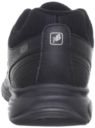 New Balance W411 - Zapatillas de running de cuero para hombre negro bk-black, color negro, talla 44