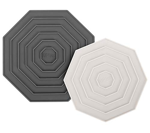 - Silicone Trivet Mats - Set of 2 - High-heat resistant-7