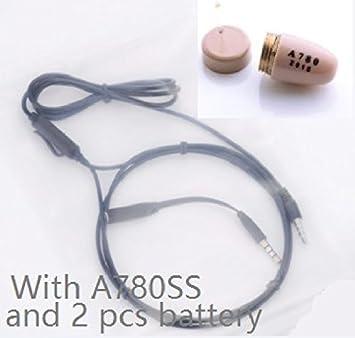 10 piezas sólo dispositivo para cuello auricular espía