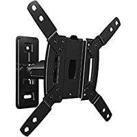Sanus Vuepoint Full-Motion TV Wall Mount 13-inch to 32-inch Display Built-in Cable Management, Black (Non-Retail Packaging)