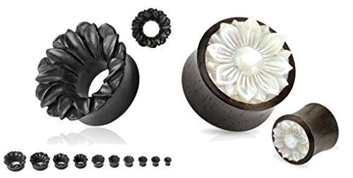 Organic Flower Mother Carved Tunnels product image