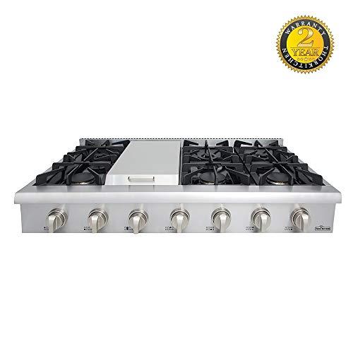 48 gas cooktop - 7