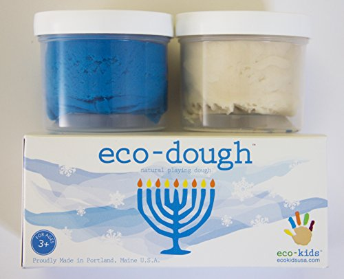 eco-Dough 2 Pack Menorah made in New England
