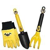 MidWest Quality Gloves SFBP16P03-EA-AZ-6 DC Comics Super Friends Batman Combo Pack, Toddler, Multicolor