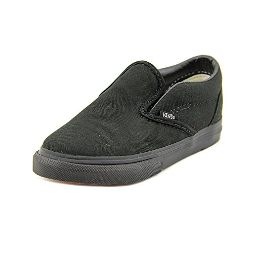 Vans Kids' Classic Slip-ON-K, Black 6 M US Toddler