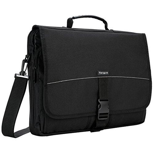 Targus Basic Messenger Case Designed for 15.6-Inch Laptop, Black (TCM004US)