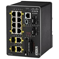 Cisco Industrial Ethernet 2000 Series - Switch - 10 Ports - Managed - DIN Rail Mountable (IE-2000-8TC-B)