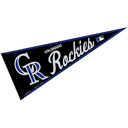 (WinCraft Colorado Rockies MLB Large Pennant)