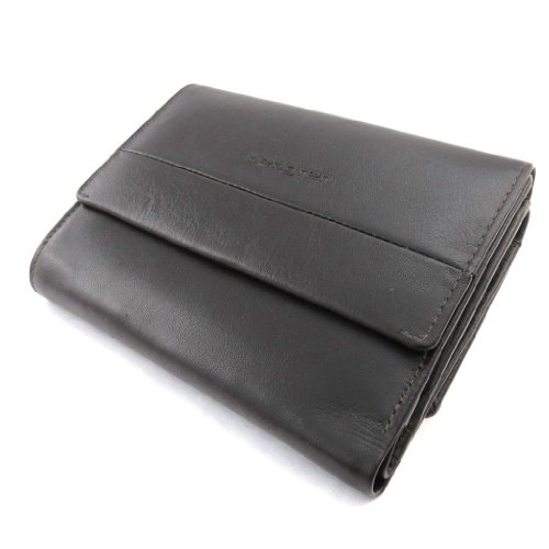 dark wallet Leather wallet 'Hedgren' brown 'Hedgren' dark Leather brown BXpx0H