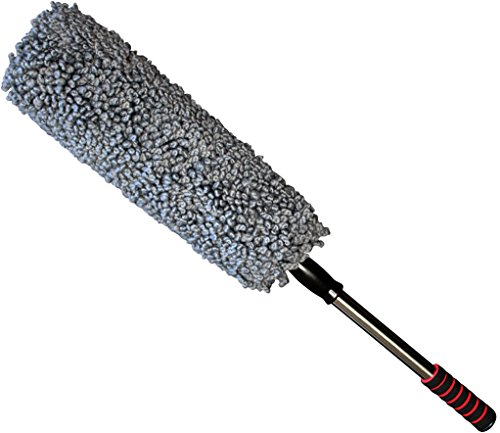 Ultra Premium Car Duster - Better Than The California Duster - Extendable Handle - Wax Free (Car Rim Scrub Brush compare prices)