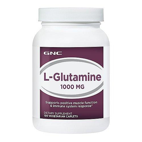 GNC L-Glutamine 1000, Vegetarian Capsules, 100 ea