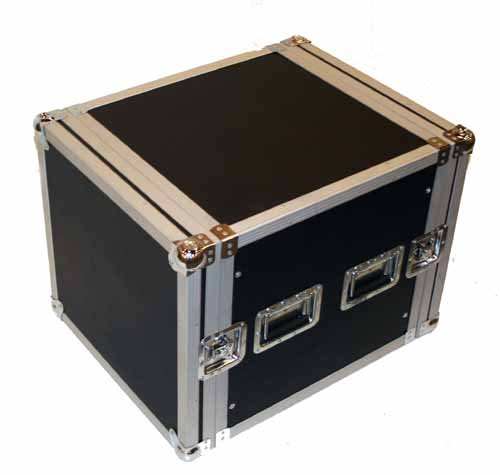 Seismic Audio - 10 SPACE RACK CASE for Amp Effect Mixer PA/DJ PRO Audio Seismic Audio Speakers Inc. AR 10