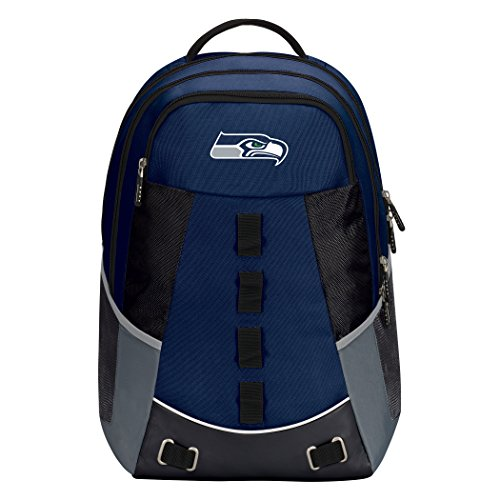 "NFL Seattle Seahawks ""Personnel"" Backpack""Personnel"" Backpack, Blue, One Size"
