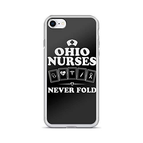 - iPhone 7/8 Pure Clear Case Cases Cover Ohio Nurses Medicine Symbol Inspirational Quote