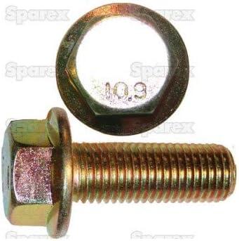 Sparex Heavy Hex Flange Screw M16-2.00 X 110mm 142322 Set of 5