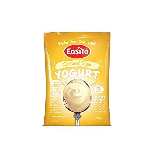 Easiyo Custard Yoghurt Mix 215g (Pack of 2)