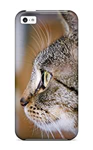 Hot Observing Cat Cute Felines Animal Cat First Grade Tpu Phone Case For Iphone 5c Case Cover