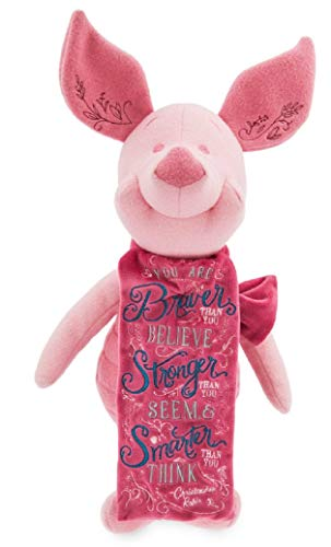 Disney Wisdom Series Plush Piglet Winnie the Pooh April Limited Edition NWT