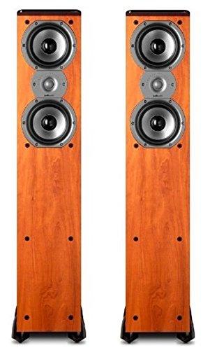 Find Bargain Polk Audio TSi300 Floorstanding Tower Speaker - Pair (Cherry)