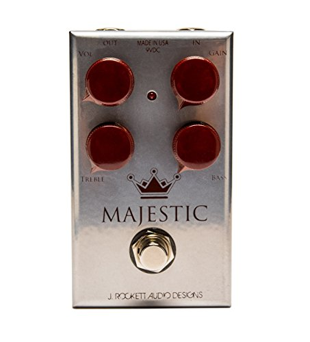 J. Rockett Audio Designs Tour Series Majestic Overdrive Guitar Effects Pedal (Best Overdrive Pedal For Humbuckers)