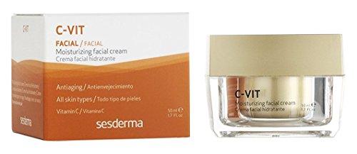 Sesderma C-Vit Moisturizing Facial Cream 1.7 (Moisturizing Vitamin C Vitamins)