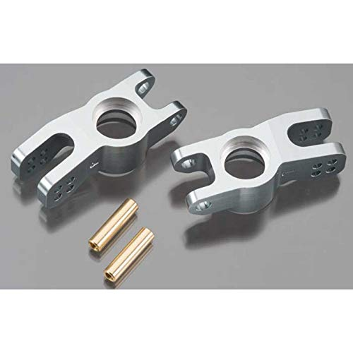(DuraTrax 7075 Aluminum 835 Rear Machined Hub (2 Piece), Gray )